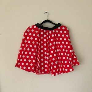 Minnie Mouse Circle Skirt